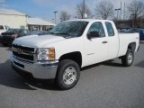 2013 Chevrolet Silverado 2500HD Work Truck Extended Cab 4x4 Data, Info and Specs