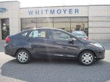 2013 Violet Gray Ford Fiesta SE Sedan #78640519