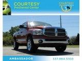 2008 Sunburst Orange Pearl Dodge Ram 1500 Big Horn Edition Quad Cab 4x4 #78640510