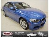 2013 Estoril Blue BMW 3 Series 335i Sedan #78640368