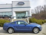 2007 Vista Blue Metallic Ford Mustang GT Premium Coupe #78639986