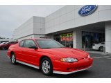 2000 Torch Red Chevrolet Monte Carlo Limited Edition Pace Car SS #78640226