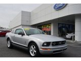 2007 Satin Silver Metallic Ford Mustang V6 Deluxe Coupe #78640224