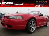 1999 Rio Red Ford Mustang SVT Cobra Convertible #78640204