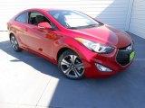 2013 Volcanic Red Hyundai Elantra Coupe SE #78640333