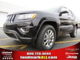 2014 Brilliant Black Crystal Pearl Jeep Grand Cherokee Limited #78640202