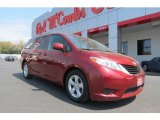 2012 Salsa Red Pearl Toyota Sienna LE #78640084