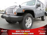 2013 Billet Silver Metallic Jeep Wrangler Unlimited Sport S 4x4 #78640186
