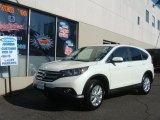 2012 White Diamond Pearl Honda CR-V EX 4WD #78640719