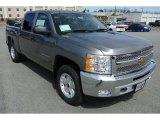 2013 Graystone Metallic Chevrolet Silverado 1500 LT Crew Cab 4x4 #78640588