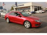 2010 Red Candy Metallic Ford Fusion SE #78640059