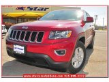 2014 Deep Cherry Red Crystal Pearl Jeep Grand Cherokee Laredo #78640465
