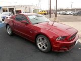 2014 Ford Mustang Ruby Red