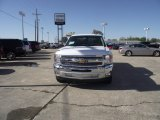2013 Summit White Chevrolet Silverado 1500 LT Crew Cab #78640673