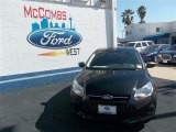 2013 Tuxedo Black Ford Focus S Sedan #78640042