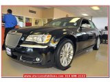 2013 Phantom Black Tri-Coat Pearl Chrysler 300 C John Varvatos Luxury Edition #78640456