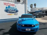 2013 Grabber Blue Ford Mustang GT Coupe #78640036
