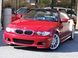 2006 Electric Red BMW 3 Series 330i Convertible #78640284