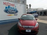 2013 Ruby Red Ford Fiesta SE Sedan #78640033