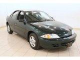 2002 Forest Green Metallic Chevrolet Cavalier Sedan #78640557