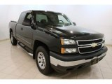 2007 Black Chevrolet Silverado 1500 Classic Work Truck Extended Cab 4x4 #78640554