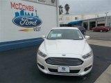 2013 White Platinum Metallic Tri-coat Ford Fusion SE 1.6 EcoBoost #78640027
