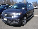 2013 Atlantis Blue Metallic Chevrolet Traverse LTZ AWD #78639912