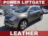 2010 Mocha Steel Metallic Chevrolet Equinox LTZ #78639908