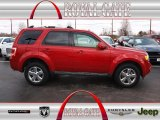 2009 Sangria Red Metallic Ford Escape Limited V6 #78698117
