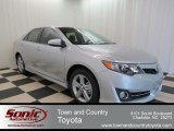 2013 Classic Silver Metallic Toyota Camry SE #78698693