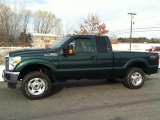 2012 Green Gem Metallic Ford F250 Super Duty XL SuperCab 4x4 #78698547