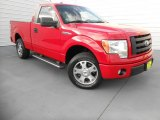2010 Vermillion Red Ford F150 STX Regular Cab #78698399