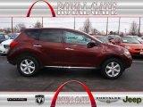 2010 Merlot Red Metallic Nissan Murano SL AWD #78698111