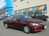 2011 Basque Red Pearl Honda Accord LX Sedan #78698978