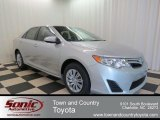 2013 Classic Silver Metallic Toyota Camry LE #78698691