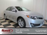 2013 Classic Silver Metallic Toyota Camry SE #78698690
