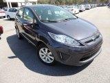 2013 Violet Gray Ford Fiesta SE Hatchback #78698539