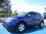 2013 Deep Impact Blue Metallic Ford Explorer FWD #78698243