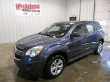 2013 Atlantis Blue Metallic Chevrolet Equinox LS #78698958