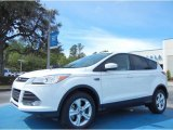 2013 Oxford White Ford Escape SE 2.0L EcoBoost #78698239