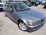 2003 Steel Blue Metallic BMW 3 Series 325i Sedan #78698530