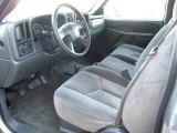 2006 Chevrolet Silverado 1500 LS Crew Cab 4x4 Dark Charcoal Interior