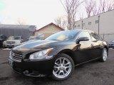2010 Crimson Black Nissan Maxima 3.5 SV #78698384