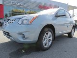 2013 Frosted Steel Nissan Rogue SV #78698509