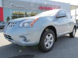 2013 Frosted Steel Nissan Rogue S #78698508