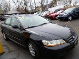 2002 Nighthawk Black Pearl Honda Accord SE Sedan #78698789