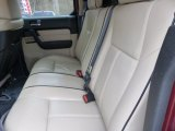 2009 Hummer H3 T Alpha Rear Seat