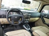 2009 Hummer H3 T Alpha Light Cashmere/Ebony Interior