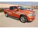 2010 Mango Tango Pearl Dodge Ram 1500 SLT Crew Cab #78698183