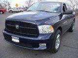 2012 True Blue Pearl Dodge Ram 1500 Express Quad Cab 4x4 #78697994